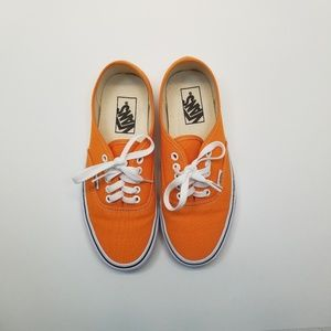 Vans Authentic Dark Cheddar True White Shoes